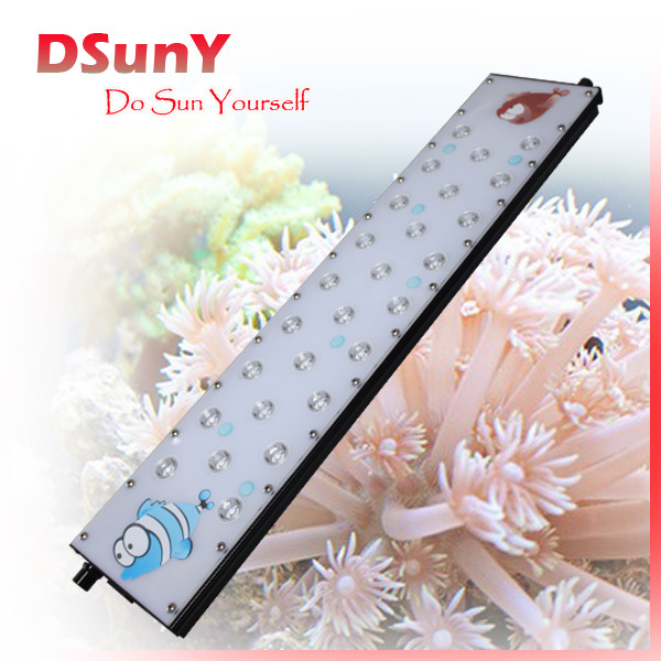 DSunY manually dimmable full spectrum dimmable 24 inch led light freshwater aquarium plants