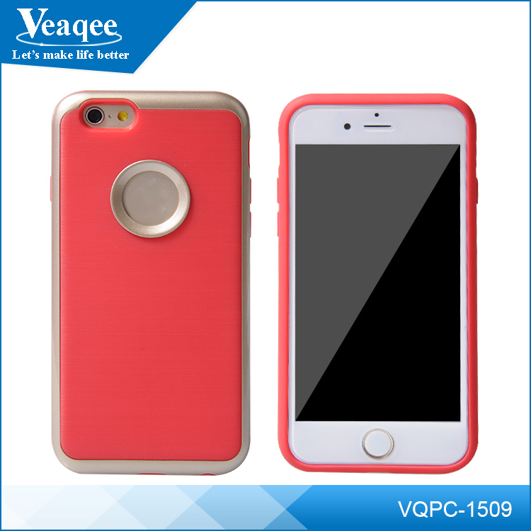 Veaqee transparent clear & color soft tpu mobile phone case tpu case for iphone 6 6s