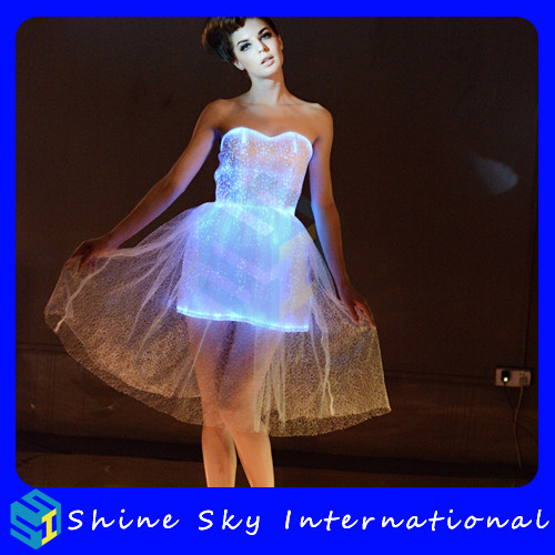 Popular Dress Best Selling Escrow Shopping Led Luminous Dress DHL/<strong>Fedex</strong> Fast Shipping