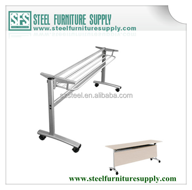 folding table leg mechanism, metal folding table mechanism,metal folding table frame