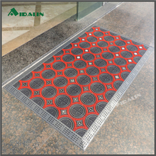 Hot selling rubber floor anti dust hotel mat for playground