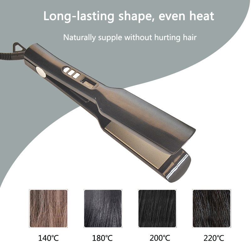 Professional hair beauty tools OEM Korean fast hair straightener with private label