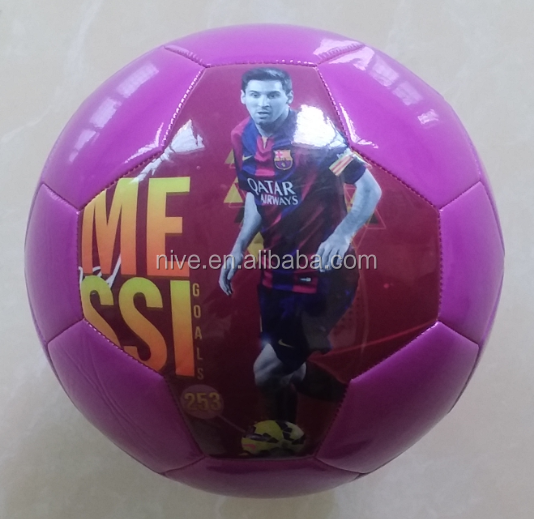 PU,PVC,TPU leather Material cheap soccer balls/footballs in bulk