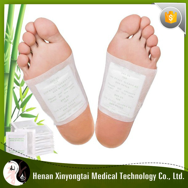 OEM 30Pcs Natural Herbal Ingredient Detox Foot Patch For Clinic