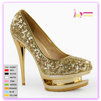 2016 Fashion 16cm stiletto heels platform ladies pump shoes,China latest ladies pencil sexy high heels