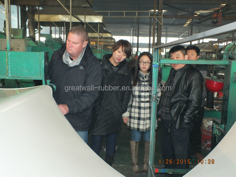 White color silicone rubber sheeting food grade FDA ASTM system with good quality Aotai grade