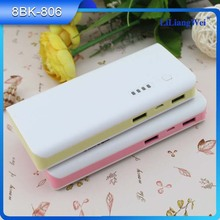 Universal portable Rechargeable Batteries usb mobile phone charger power bank large capacity