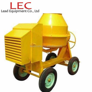 Mini diesel concrete mixer portable 500L for sale