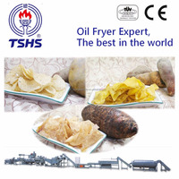 New Products 2016 Industrial Automatic Sweet Potato Chips Slicing Machine