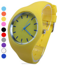 popular ladies sweet silicone wrist quartz watch