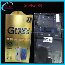Anti shock mobile phone screen Tempered glass for Motorola Moto G5 screen protector for Moto G5