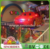 2016 China high quality popular kids/adult amusement rides mini flying car for sale