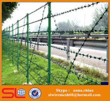Chain Link Fence Top Cheap Barbed Wire for Sale