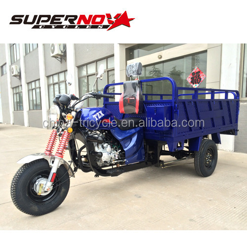 3 wheel bike for cargo 150cc air cooled 800kg loading with EEC in china factory