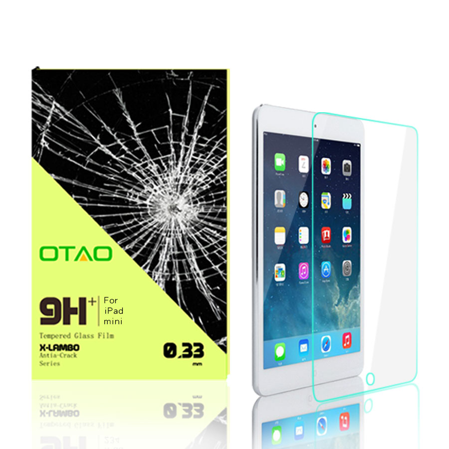 tempered glass screen protector for ipad Mini Mini2 shock absorption