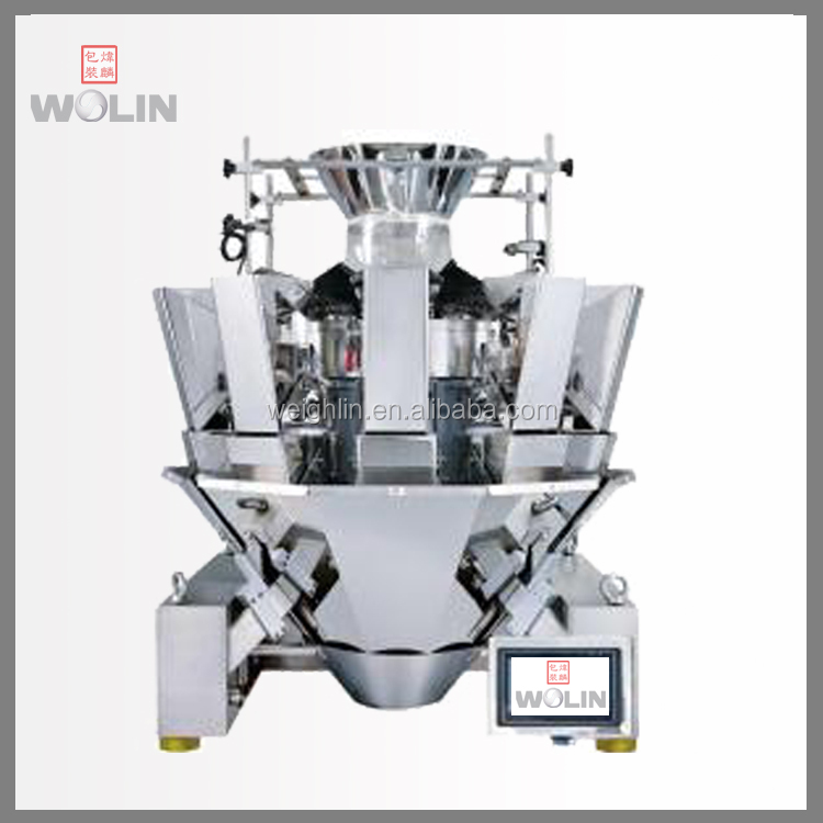 Welin Factory design and build 10head 14head high speed accuracy pieces counting weight filler for packaging project line