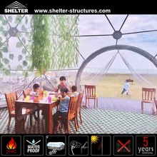 2017 Shelter Waterproof Round Aluminum PVC Dome