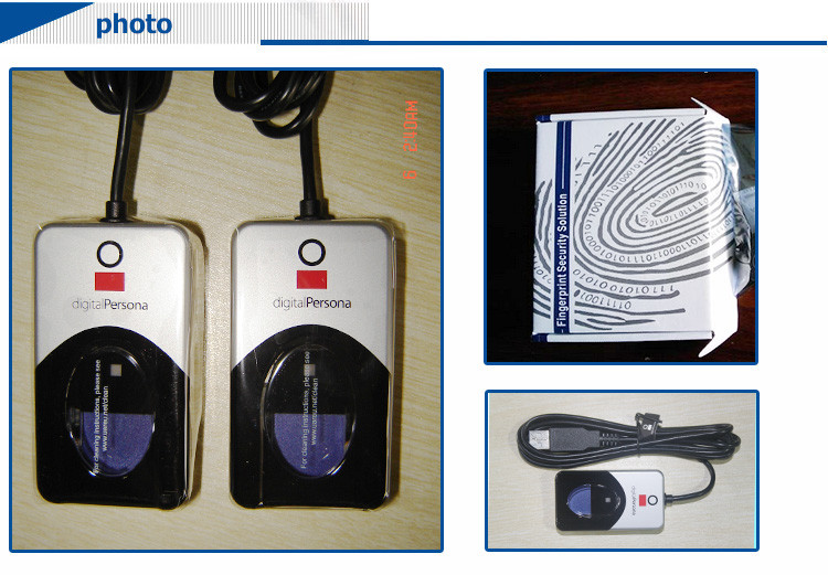 Digital Persona U are U 4500 Biometric Fingerprint Reader