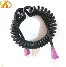 Industrial Grade Cat5e Cat6 UTP FTP Sprial Coiled Curled Ethernet Network Buscable cable