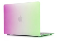 wholesales hot sell rainbow pattern case for macbook air 13 laptop shell for dell