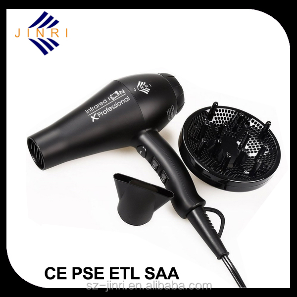 Nylon Material hairdryer AC Motor Professional Hair Dryer Factory wholesale professional hooded hair dryers