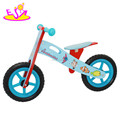 Newest design 2 years old kids wooden balance bicycle for kids W16C063