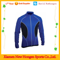Top quality sublimated blue long sleeve cycling jerseys