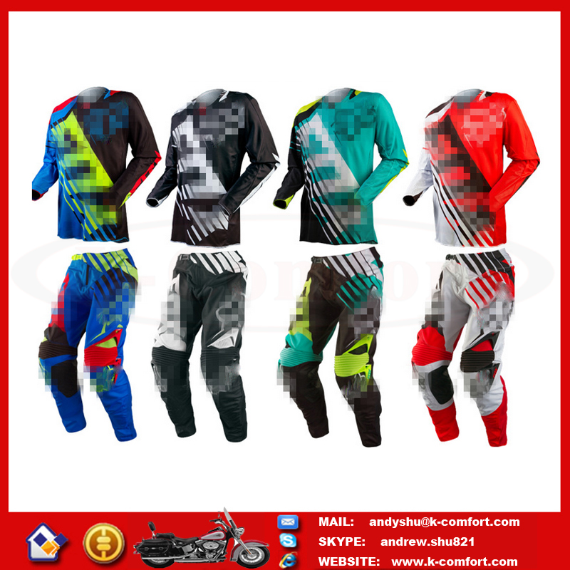 FOCX96 High quality Factory directly supply Motorcross racing jersey pants for sale