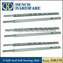Iron material Mini ball bearing drawer slide