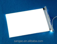 transparent led backlight/custom shape lcd screen