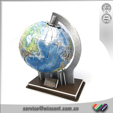 EPS Material Toy 3D Puzzle Rotating Globe