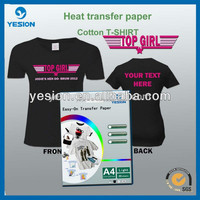 One set no cut popular sef weeding transfer paper for asia market with OKi machine