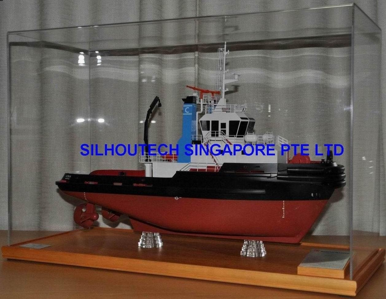 ship model tug vessel