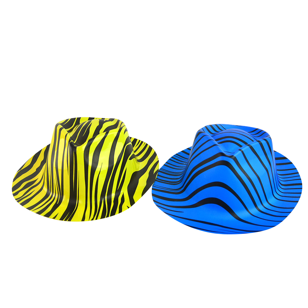 wholesale Party New Years Bowler Plastic PVC Eva hat