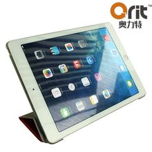 Smart modern stylish for ipad air cas with pu leather stand caseir hanging case pu stand case with tpu sinside case