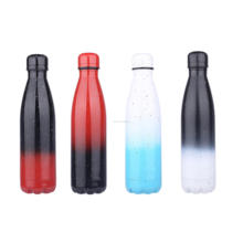 Everich 500ml Double Wall Vacuum Insulated Stainless Steel Sports Water Bottle