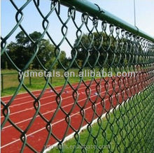 PVC coated galvanized wire chain link fence/galvanized chain link mesh/galvanized wire chain link wire mesh netting