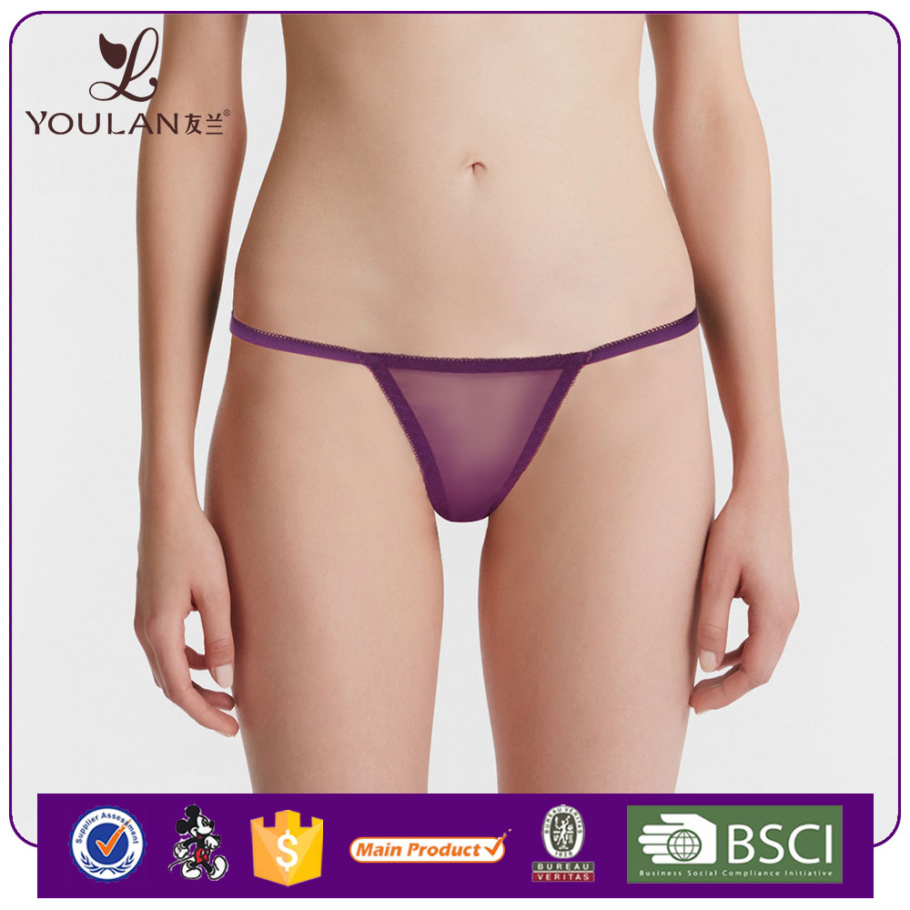 China Factory Fantastic Mature Women Sexy T-Back G-String