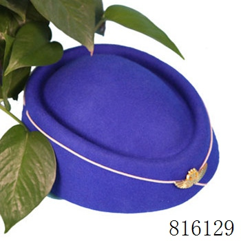 2017 beijing horizon new design flight attendant hat /flight cap for airline stewardess wholesale air hostess uniform hats caps
