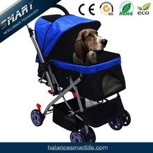 Highly quality light weighted luxury dog pet stroller with aluminum frame