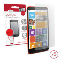 COTECHS - Lumia 1320 - 5 in 1 Screen Protector