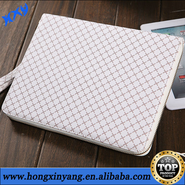 for ipad air leather bag cover with stander