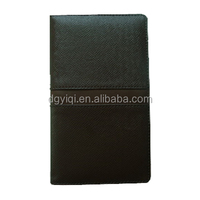 leather exercise book