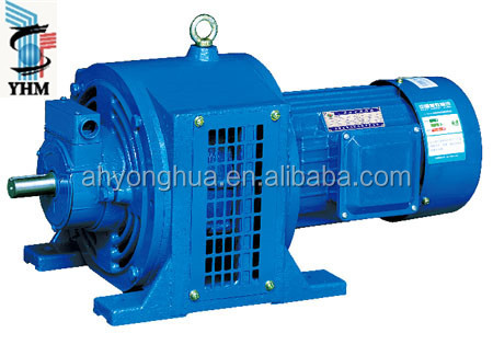 YCT Series Small Variable Speed Electric Motor single/three phase Motor