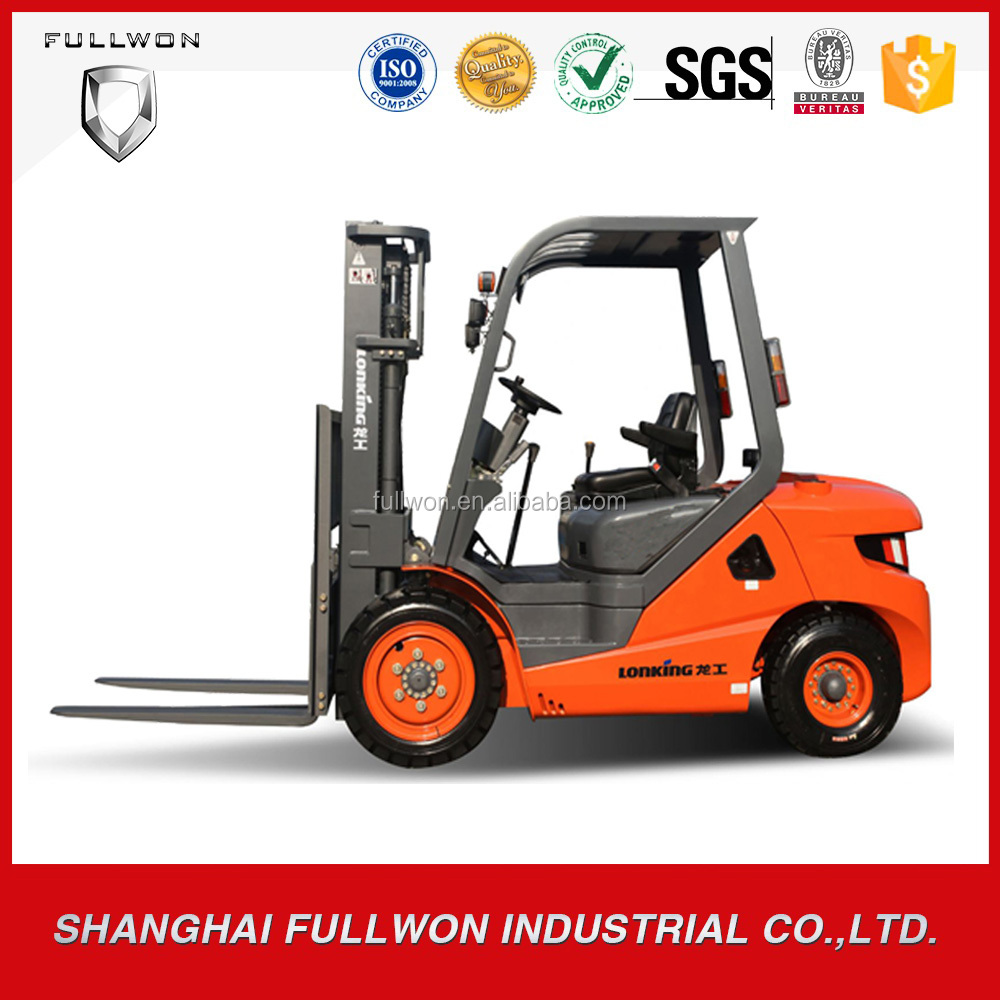 LONKING factory price 2T brand new mini forklift with diesel engine FD20DTII