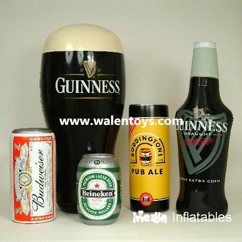 INFLATABLE/BLOW-UP BOTTLE,beer bottle/advertising inflatable bottle made in china