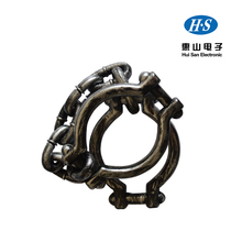 plastic wrist shackles prison handcuffs for halloween costume party