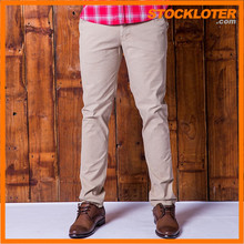 2016 Fashion Mens casual pants slacks closeout with low price,161101c