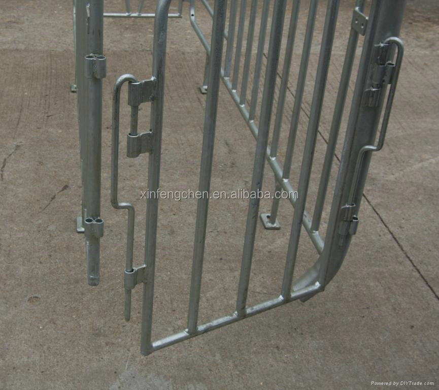Pig cage crate equipment