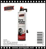 Aeropak Tire puncture sealant inflatable tire sealant